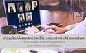 Webinare zum Thema Videokonferenzen im Unterricht